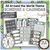 All Around the World Theme - Schedule and Calendar