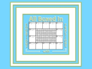 All Boxed In: Equations with Fractions