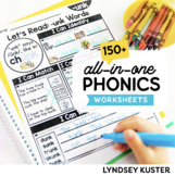 All By Myself - Independent Phonics Practice (The BUNDLE!)   Distance Learning