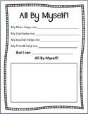 All By Myself Printable
