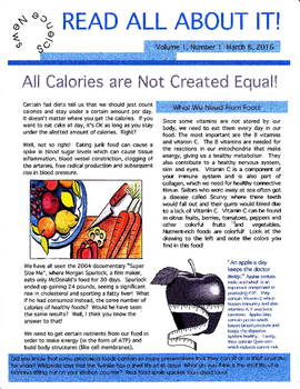 All Calories Are Not Created Equal!
