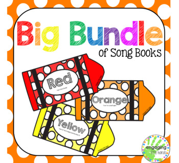 All Colors: Color Song Crayon Book