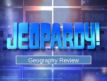 All Continent Jeopardy (SOL 3.6)