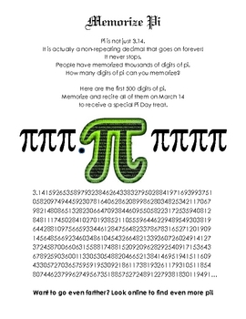 All Day Pi Day Celebration