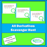 All Derivatives Scavenger Hunt