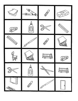 All Done Bingos !  6 Picture-Bingo Sets, Basic+ ELL, Gr.2-8