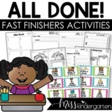 Fast Finisher Activities | Early Finisher Activities for t