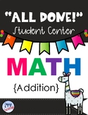 All Done Student Centers-MATH-ADDITION