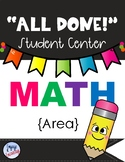 All Done Student Centers-MATH-AREA