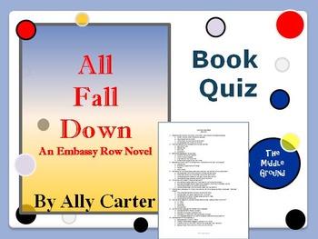 All Fall Down Book Quiz / Book Club Quiz / Book Test