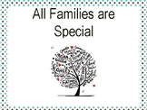 All Families Are Special Social Script