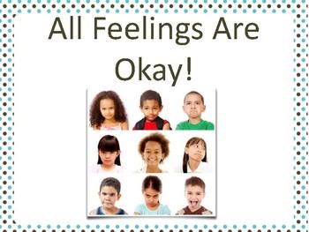 All Feelings Are Okay Social Script
