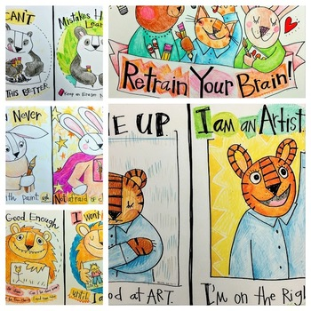 All Five Growth Mindset Poster Bundle