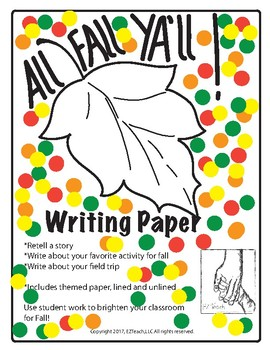 Writing Paper for Fall