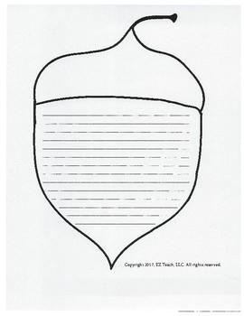 Clip Art / Fall Writing Paper