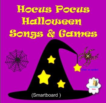 Hocus Pocus Halloween Songs & Games