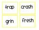"""All Gone"" Uno Game- beginning consonant blends set"