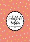 All Grade Substitute Folder