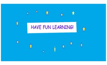 All Grades and Subjects ** Sign**Sky and Stars ** Have Fun Learning!     8.5X14