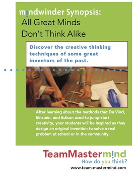 All Great Minds Don't Think Alike! ~ Learn ways to boost creative thinking