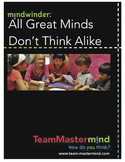 All Great Minds Don't Think Alike! ~ Learn ways to boost c