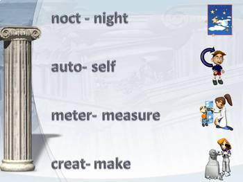 Root Words PowerPoint Lesson