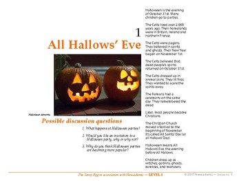 All Hallow's Eve and other international news events - Level 1