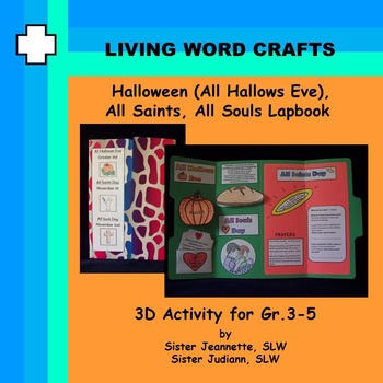 All Hallows Eve Lapbook For Grades 3 – 5