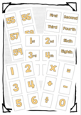 All Hands on Deck Number Cards