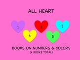 All Heart: Teaching Numbers & Colors