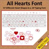 All Hearts Doodle Font