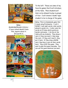 Small Group Literacy and Reading Ideas