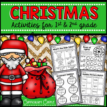 Christmas Activities {1st and 2nd grade}