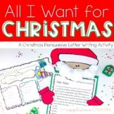 Santa Letter Writing Activity | Santa Craft | Santa Writing| Christmas Writing