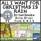 All I Want for Christmas is Rain by Cori Brooke - Christmas Book Study