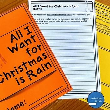 All I Want for Christmas is Rain by Cori Brooke - Christmas Book Study