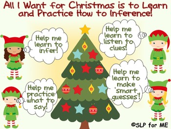 All I Want for Christmas is to Learn and Practice How to Inference