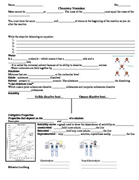 All IPC Chemistry Review Notetaker