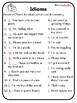All Idioms Worksheets Meaning of Idioms Idioms Practice What Idioms Mean Idiom