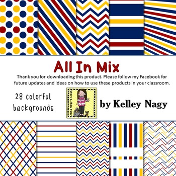 All In Mix Digital Papers