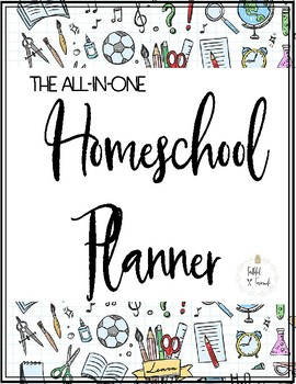 All-In-One Homeschool Planner