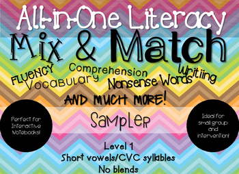All-In-One Literacy: Level 1 Sampler