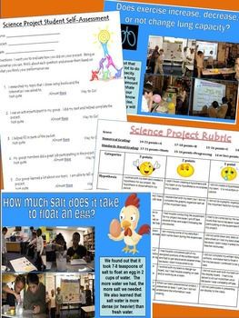 All-In-One Science Project and Research Packet!