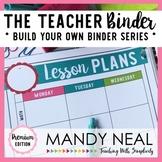 The Teacher Binder {Premium Edition}