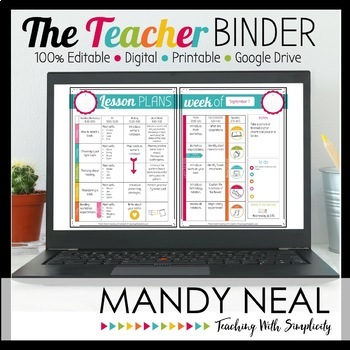 The Teacher Binder {All-in-One Edition}