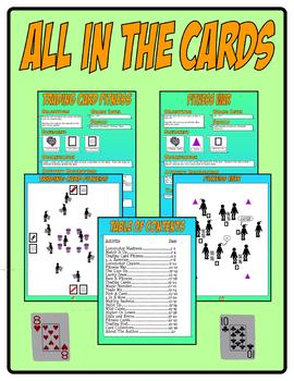 All In The Cards Activity eBook