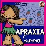 Summer Articulation Packet | Summer Speech and Language | Apraxia of Speech