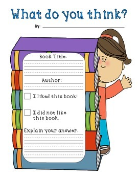 All-Inclusive Early Elementary Reading Response Packet Com