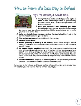 All-Inclusive Learning Skills and Strategies Folder - Blue & Purple