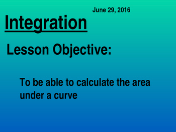 All Integration chapters - International Baccalaureate Standard Level